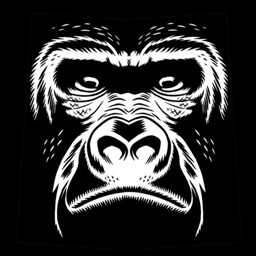 illu face gorilla apla